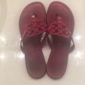 Tory Burch Miller Dark Pink Miller Sandals 9.5